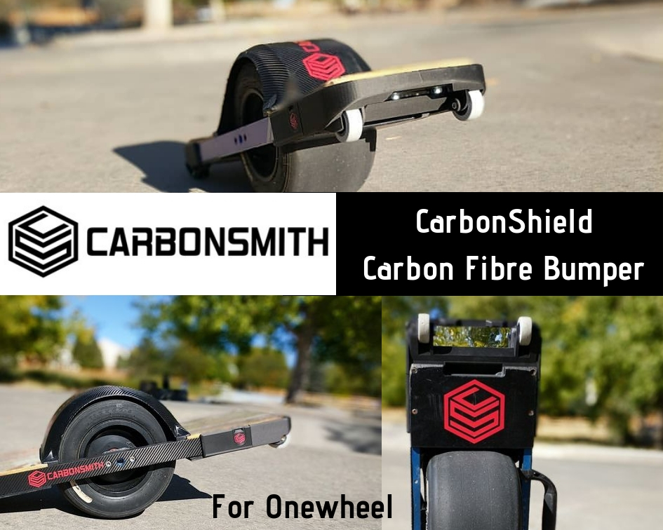 Onewheel Nosedive Wheels CarbonSmith CarbonShield - Onewheel Nosedive Bumper Wheels