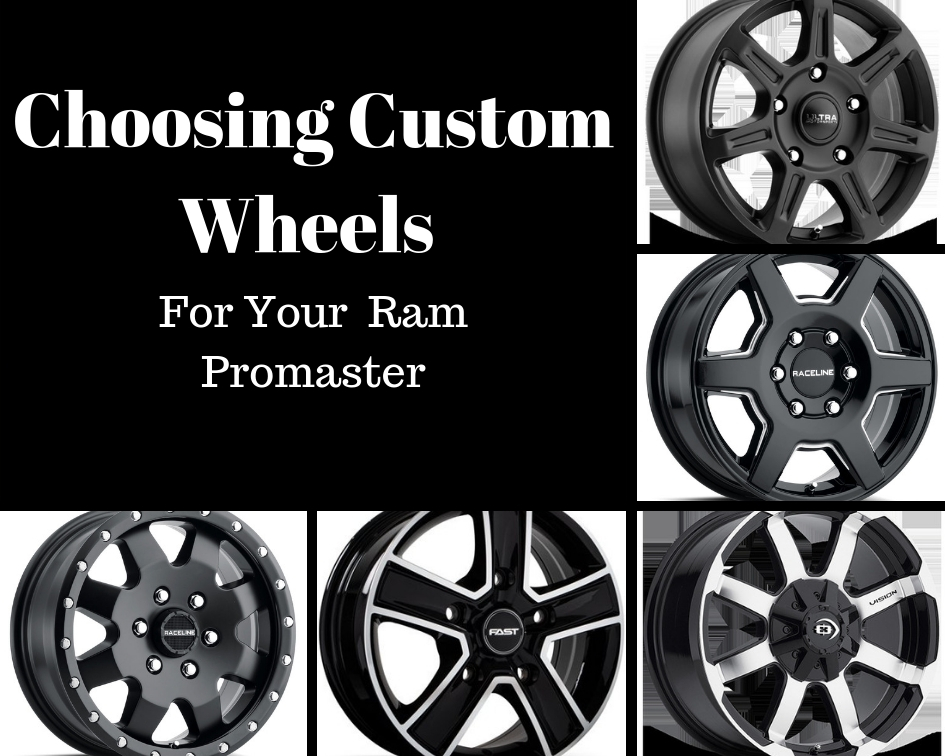 Ram Promaster Custom Wheels Ram Promaster Aftermarket Wheels