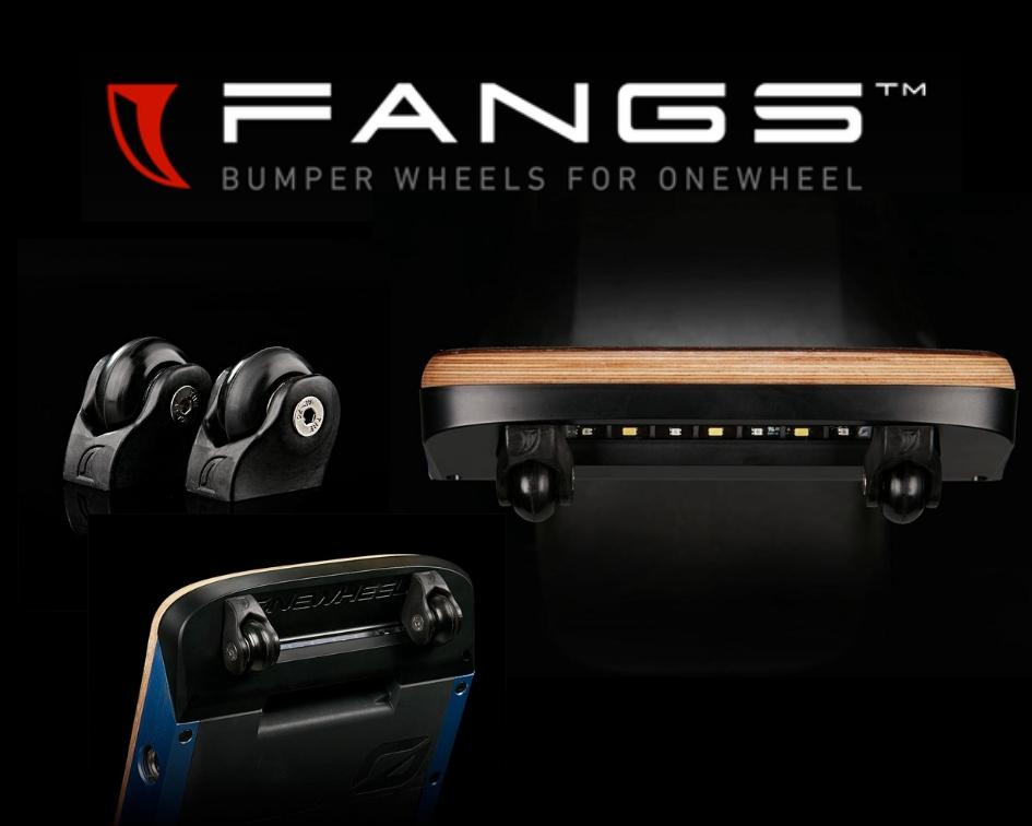 Onewheel Nosedive Wheels Land-Surf Fangs - Onewheel Nosedive Bumper Wheels