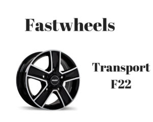 Ram Promaster Custom Wheels Fastwheels - Transport F22