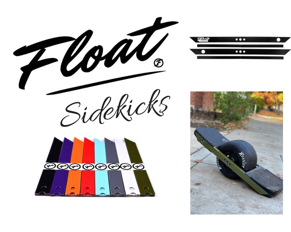 The Float Life Float Sidekicks onewheel rail guards onewheel float plates onewheel skid plates onewheel accessories onewheel sidekicks best onewheel accessories
