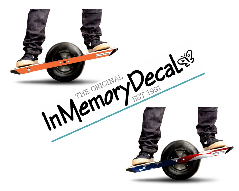 In Memory Decals Onewheel Skins Wraps and Decals