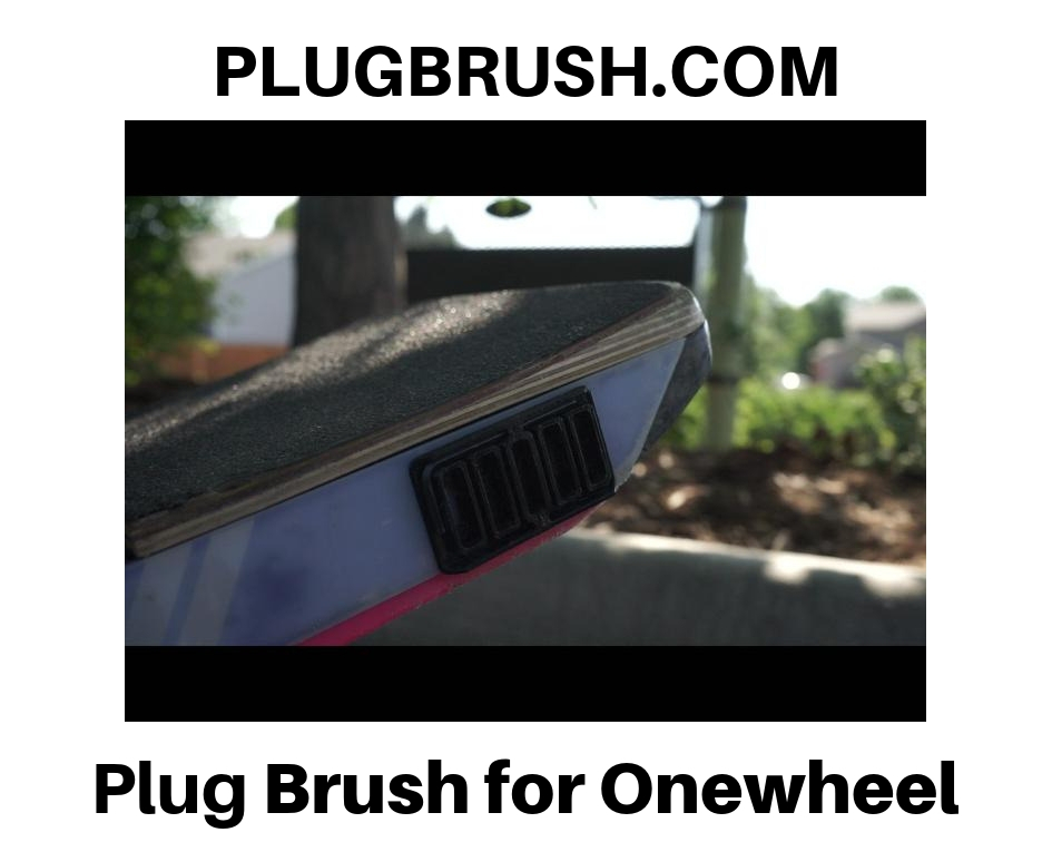 plugbrush.com onewheel plug brush onewheel rail guards onewheel float plates onewheel skid plates onewheel accessories onewheel sidekicks best onewheel accessories
