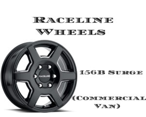 Ram Promaster Custom Wheels Raceline Wheels - 156B Surge (Commercial Van)