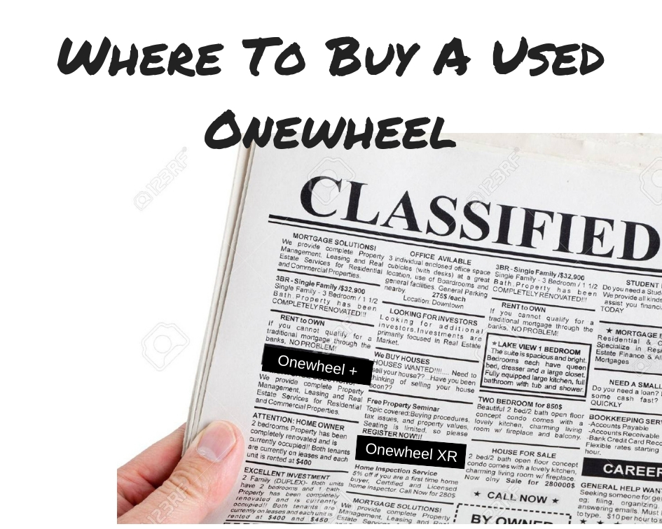 Where To Buy A Used Onewheel