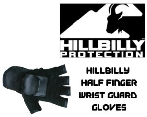Onewheel Protective Safety Gear Wrist Guards Perfect For Onewheel Hillbilly - Half Finger Wrist Guard Gloves