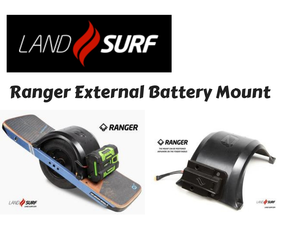 Onewheel Plus Range Extenders Land Surf Ranger External Battery Mount