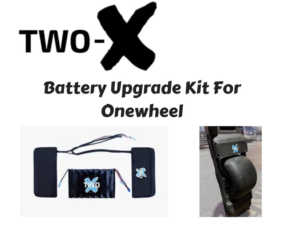 Onewheel Plus Range Extenders Two-X Battery Upgrade Kit